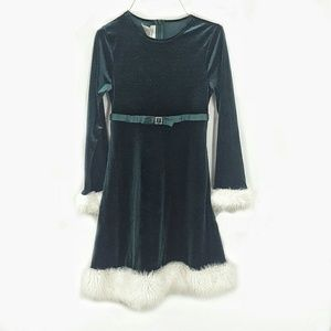 Sz 12 Bonnie Jean Holiday Dress